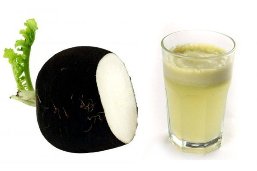 Черная редька от гайморита: лечение народным средством