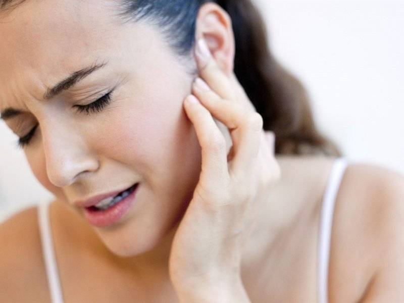 При беременности болит ухо что делать