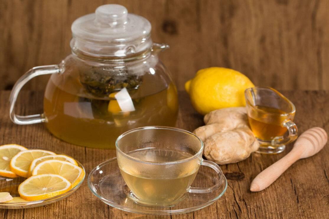 Горячая вода с лимоном от кашля