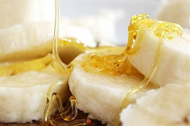 Банан и мед от кашля