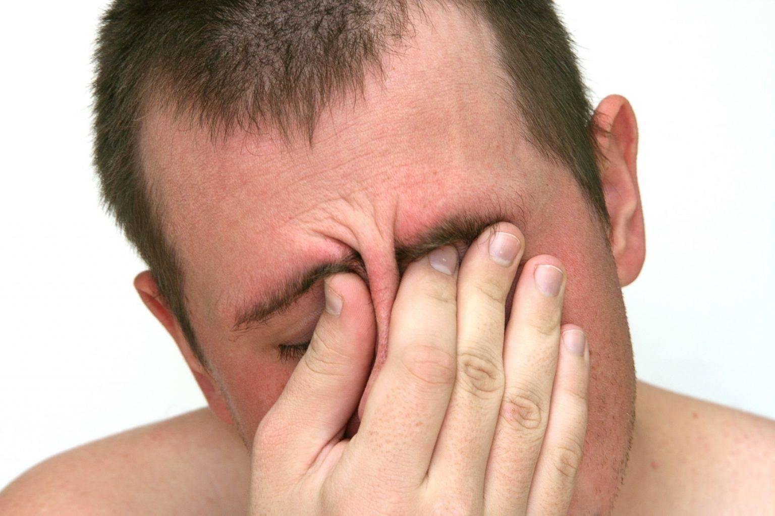 Что делать если при насморке болит переносица что
