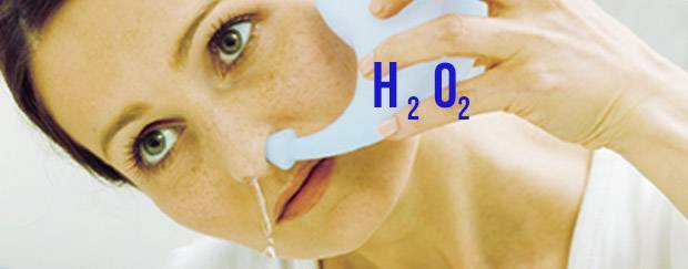 перекись водорода при гайморите особенности лечения