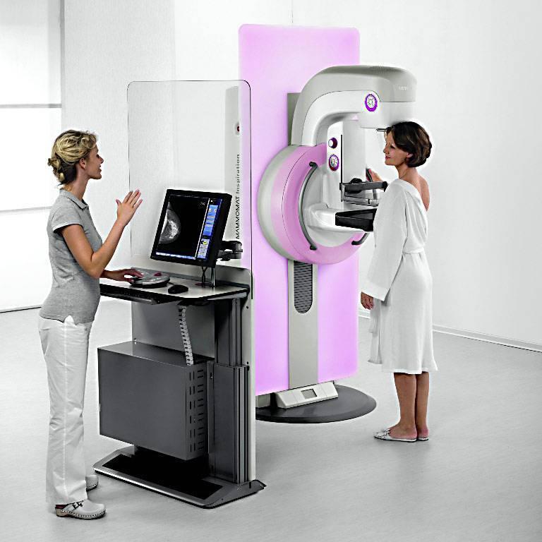 как проводят маммографию