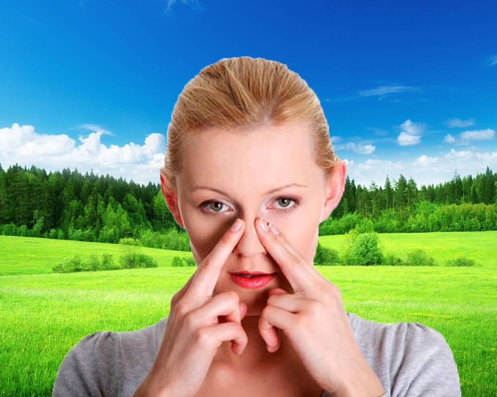 Каждое утро заложен нос и чихаю