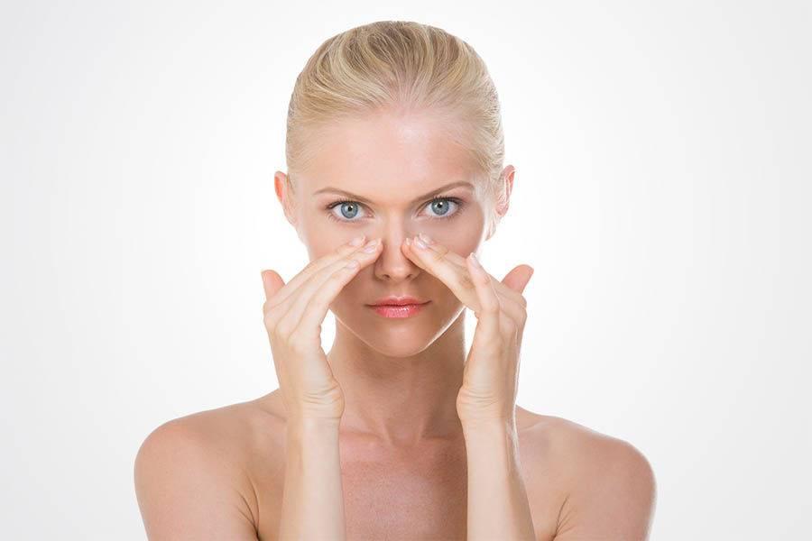Как и когда проводят массаж при насморке и заложенности носа