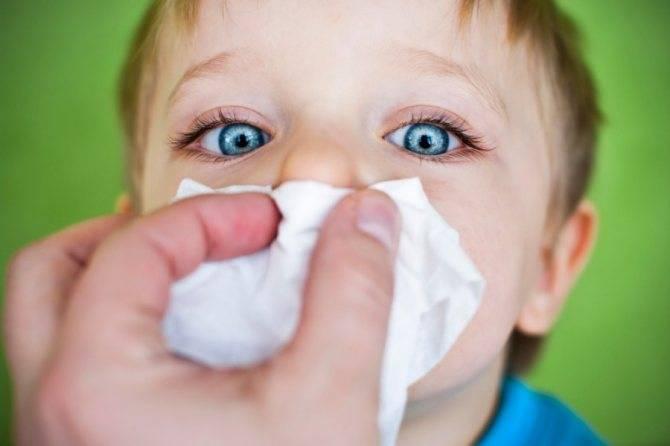 Сопли как клей у ребенка чем лечить