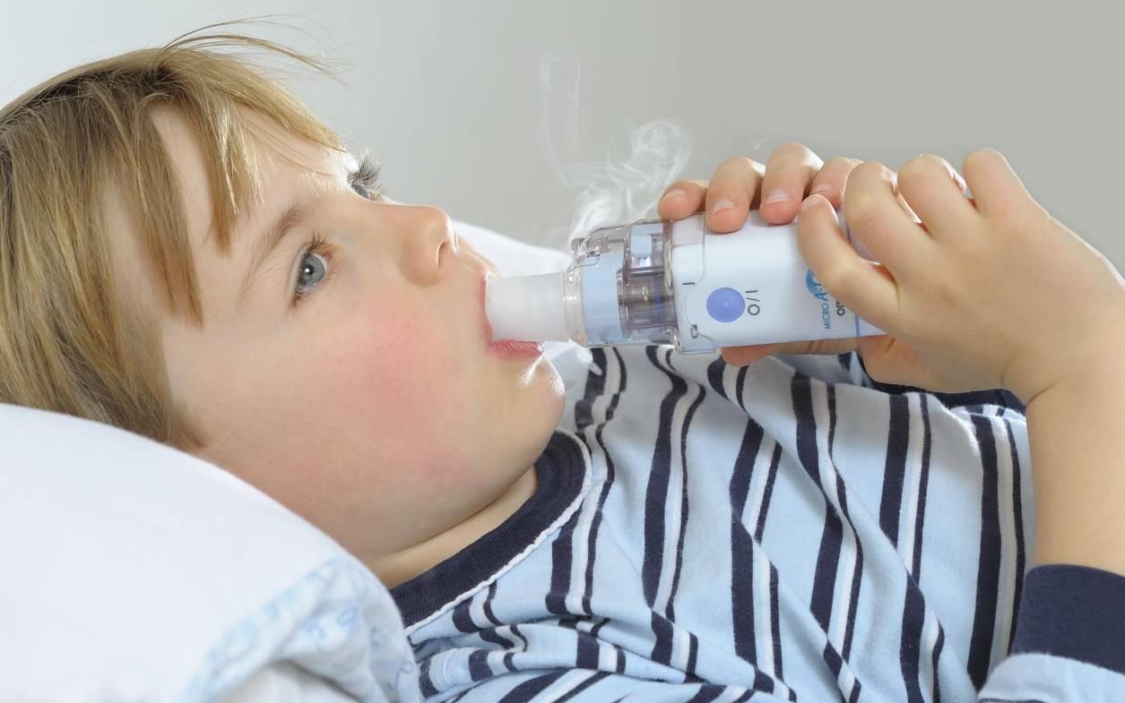ингаляции при кашле детям