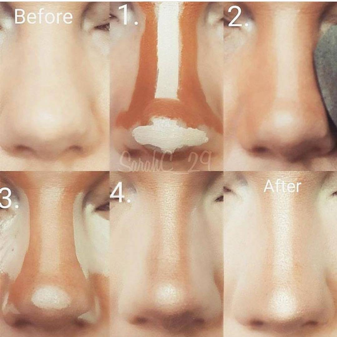 как изменить нос