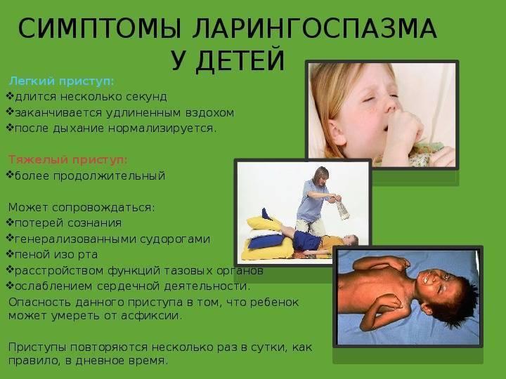 Что такое ларингоспазм