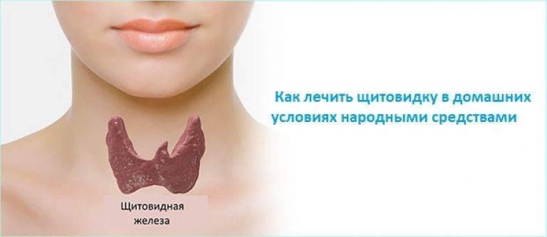чем лечить щитовидную железу в домашних условиях