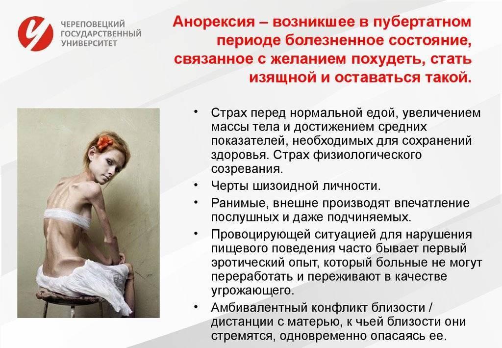 Диагностика анорексии