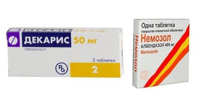 Лекарства для борьбы с глистами у взрослых