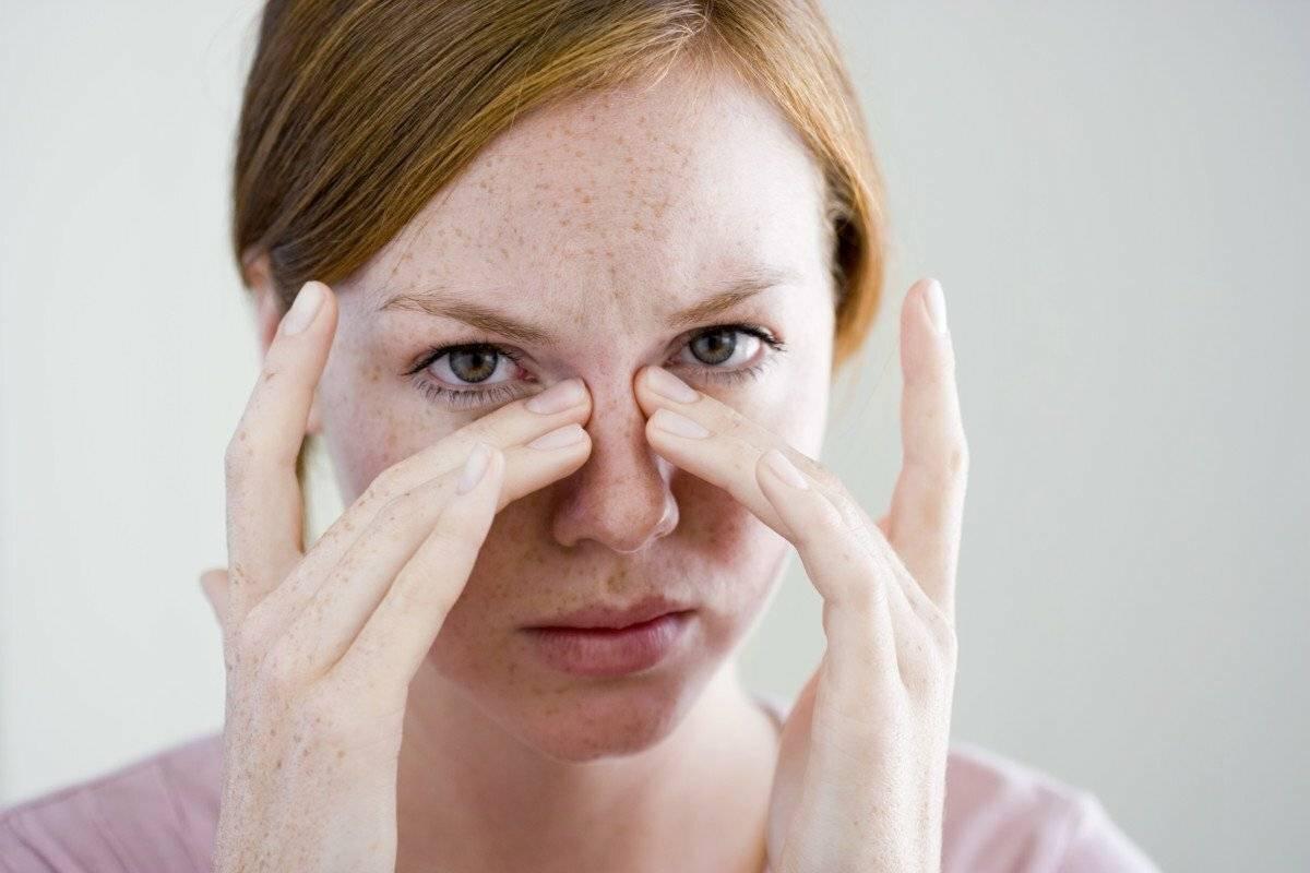 Почему болит переносица носа: причины, последствия