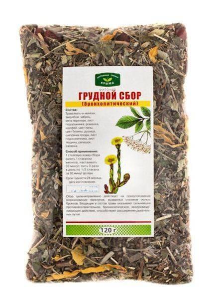 травы от кашля для детей