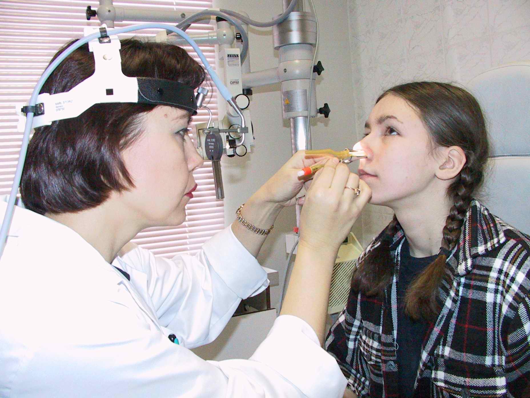 лечение гайморита ямик катетером
