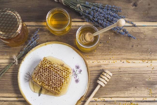 мед для лечения горла