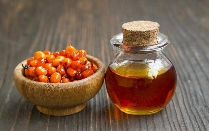 Облепиховое масло при боли в горле