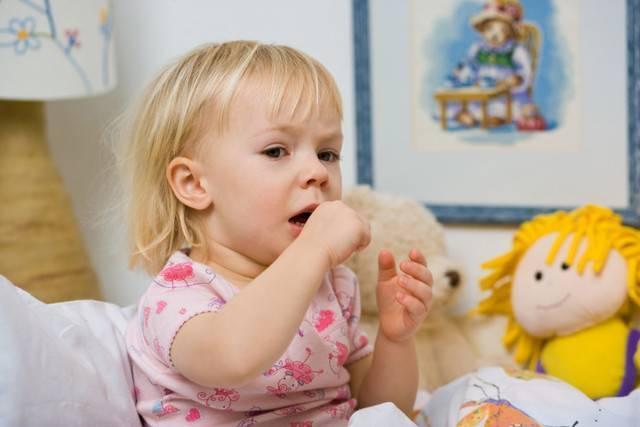 как остановить приступ кашля у ребенка