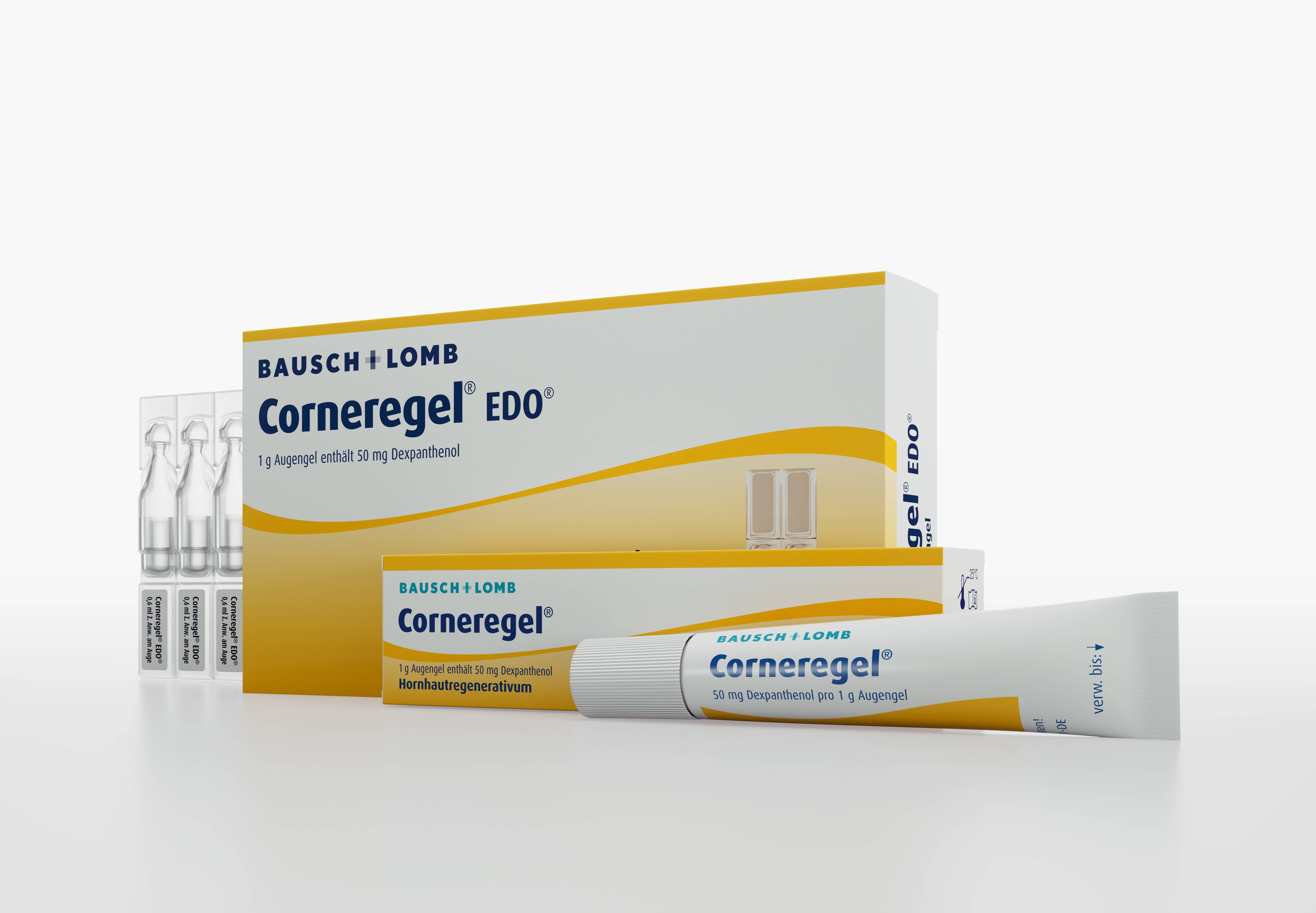 Инструкция по применению препарата корнерегель
