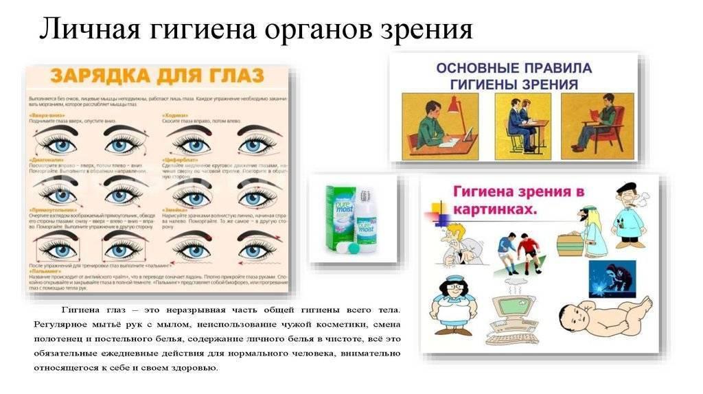 Правила гигиены зрения и слуха