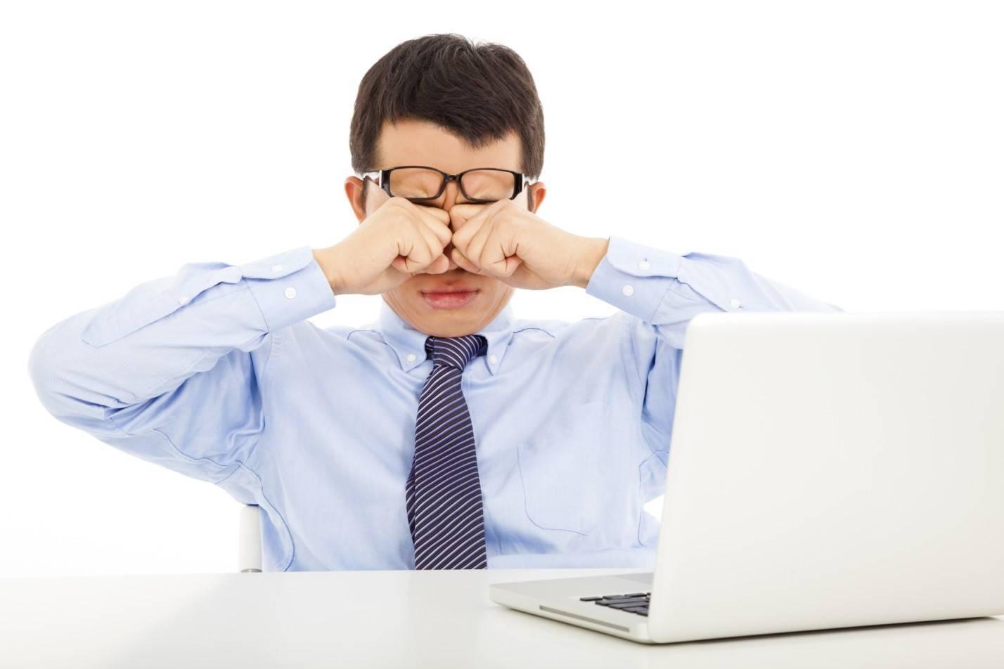 портится зрение от компьютера