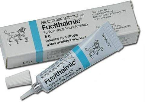 Отзывы о препарате фуциталмик