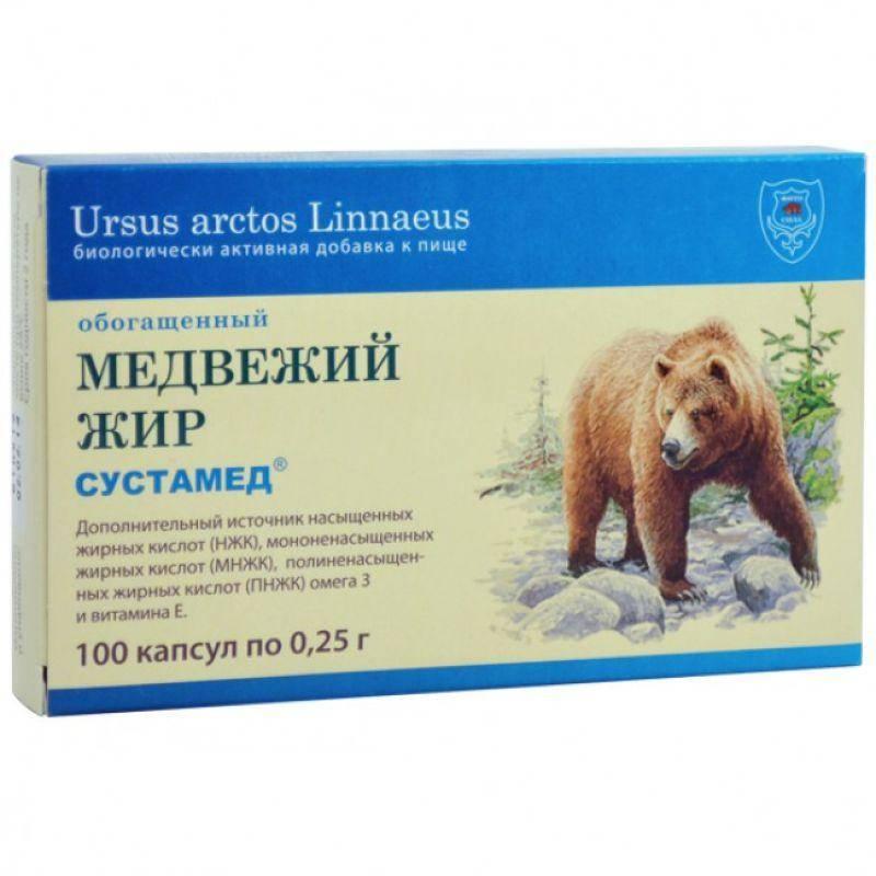 Как пить медвежий жир при кашле сколько раз в день