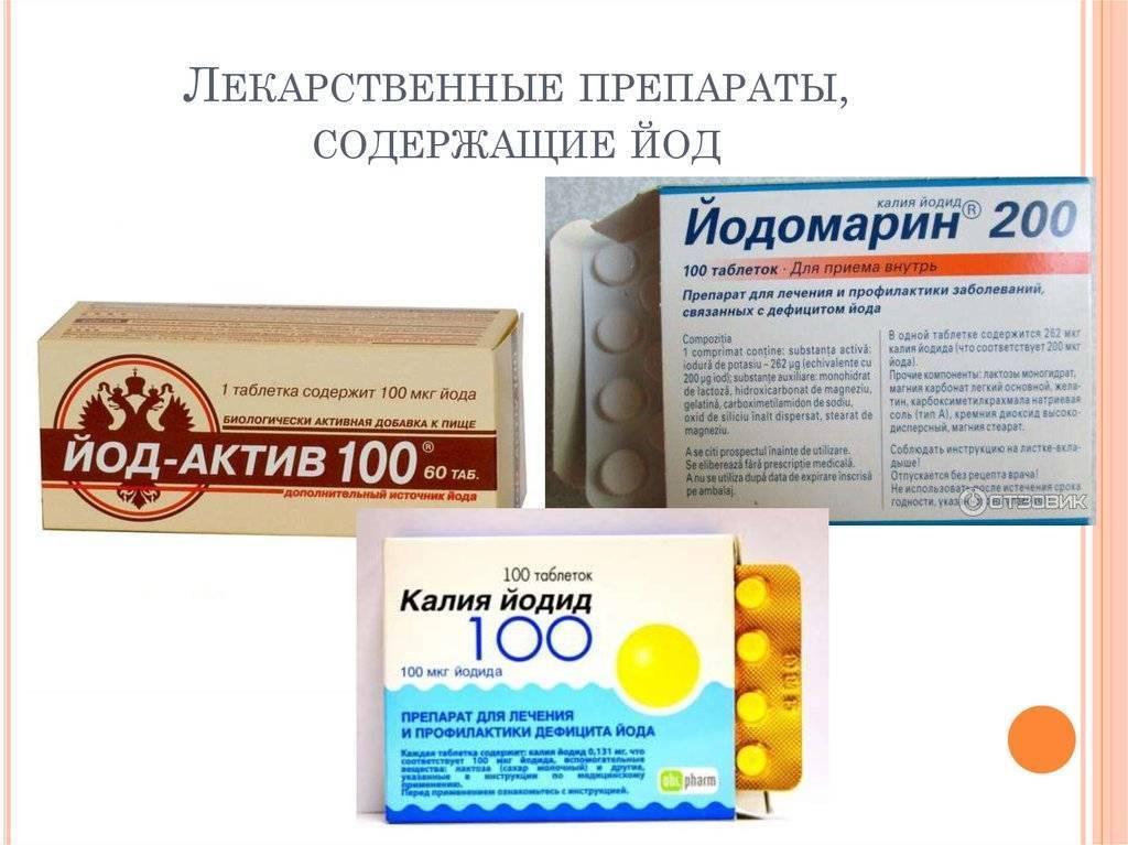 Полезные витамины для щитовидной железы