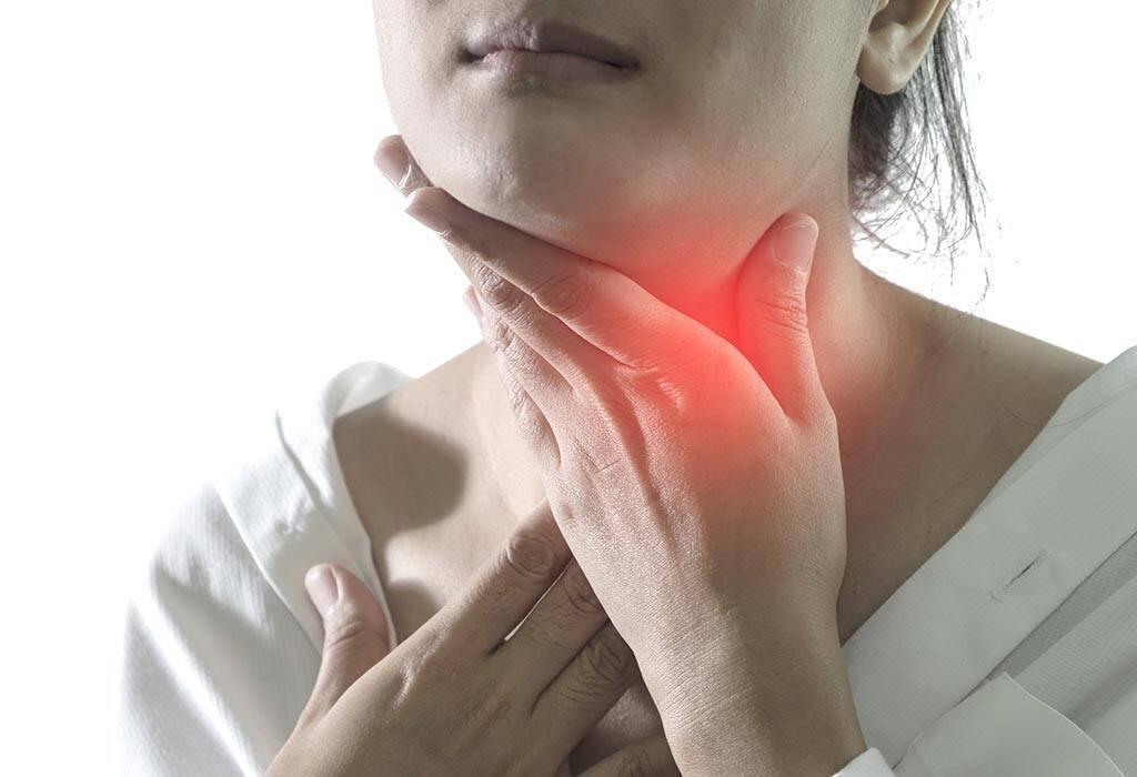 По вечерам болит горло и больно глотать