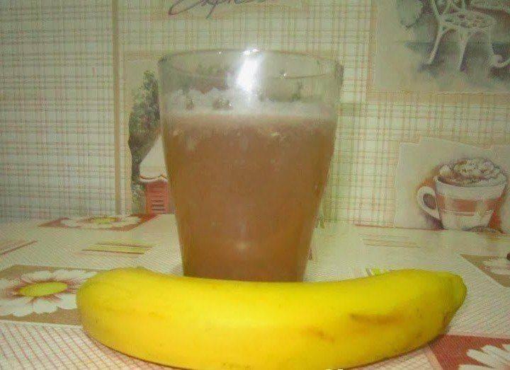 банан от кашля взрослым