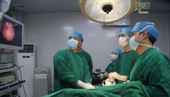 операция удаления желчного пузыря