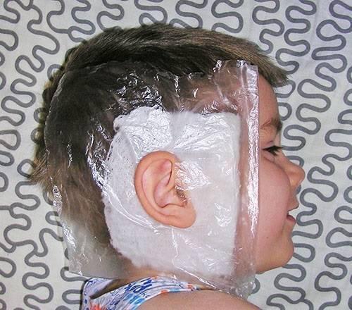 согревающий компресс на ухо