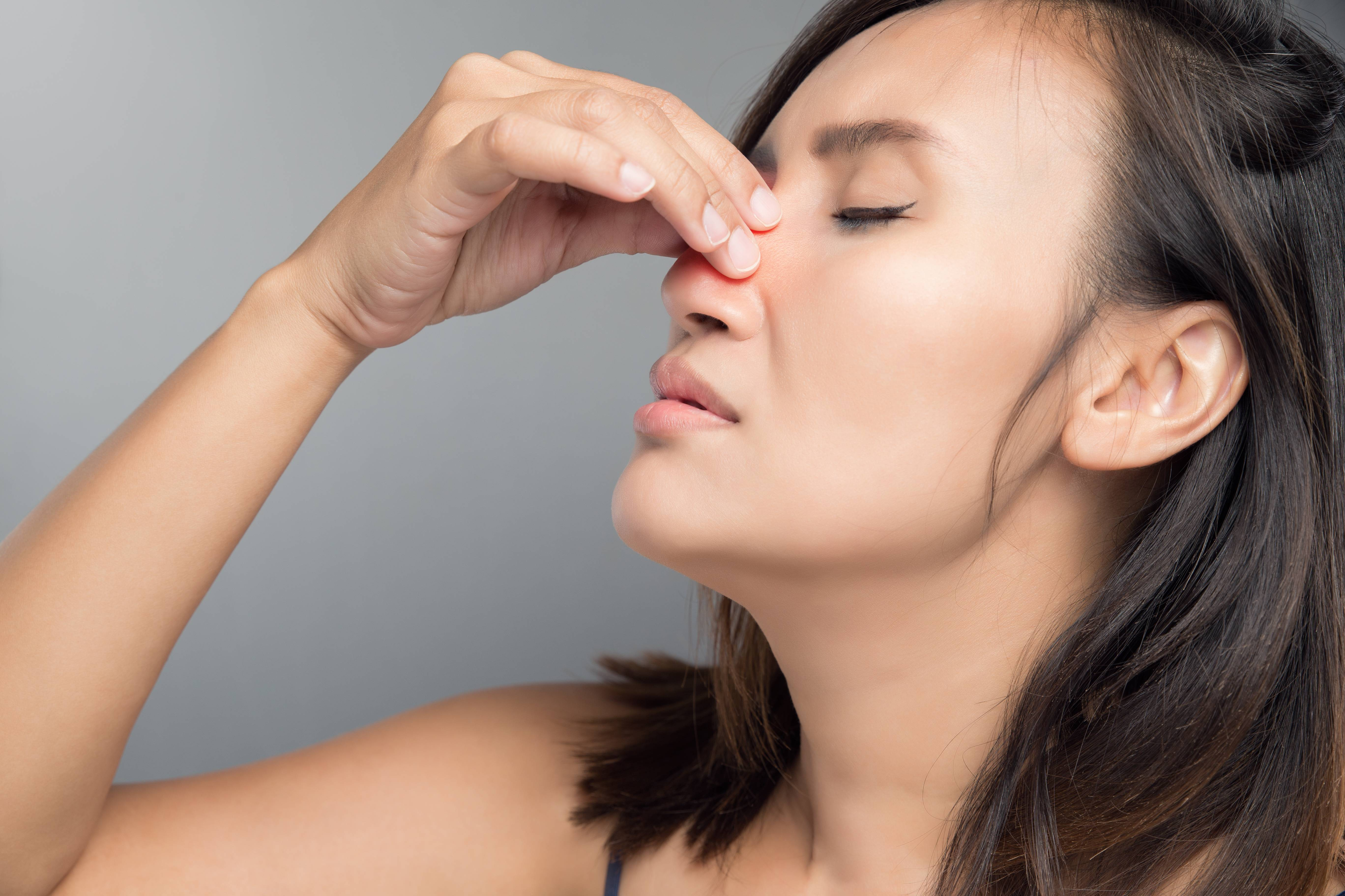 сухость слизистой носа