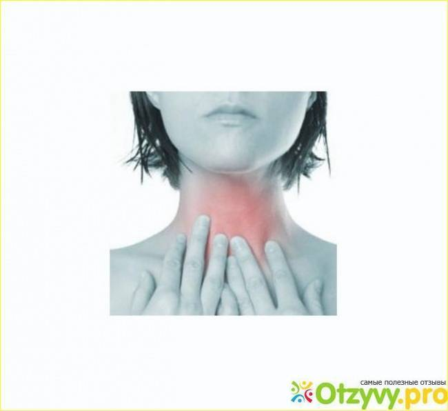 при сглатывании что то мешает в горле