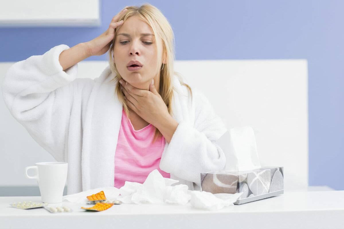 Сухой кашель по утрам у взрослого причины