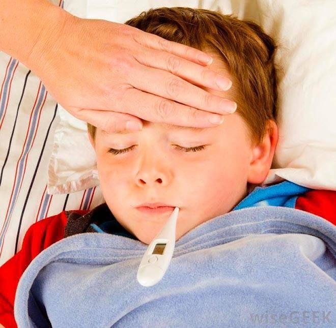 Сколько дней держится высокая температура при ангине
