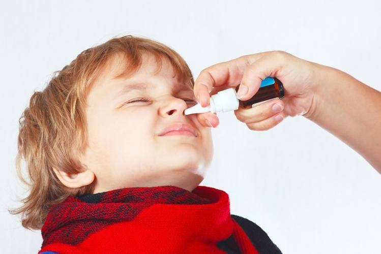 забит нос у ребенка чем лечить