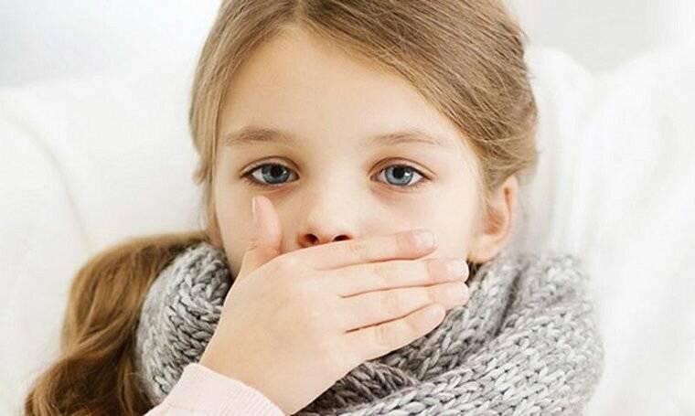 Глухой кашель у ребенка