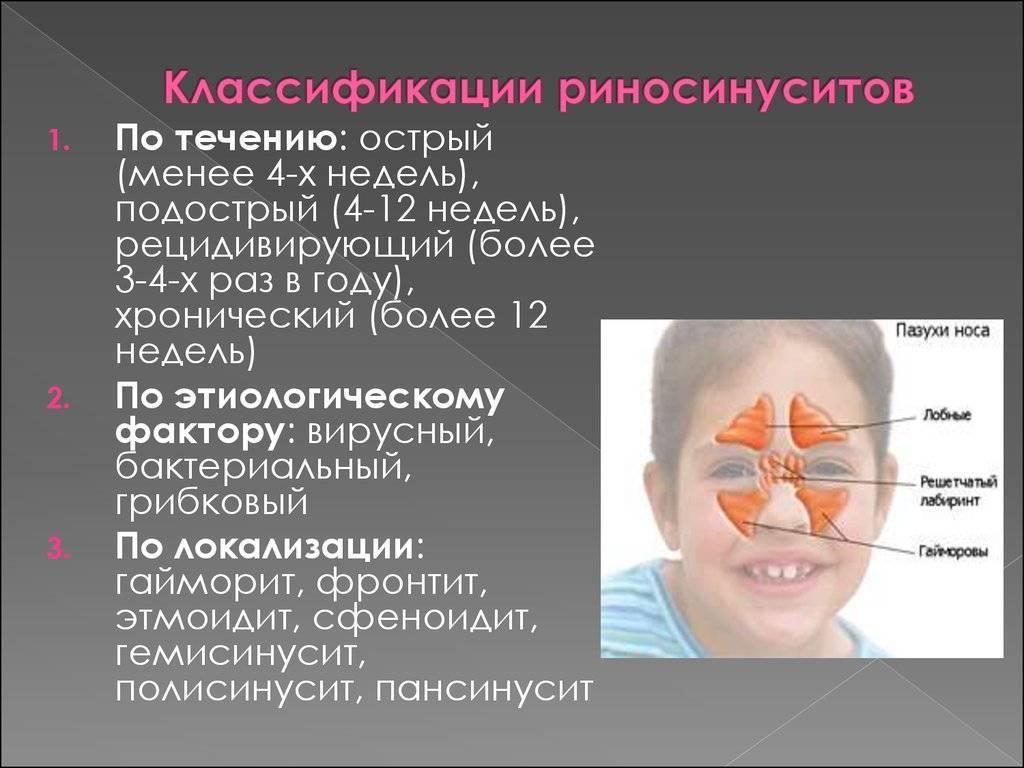хронический пансинусит
