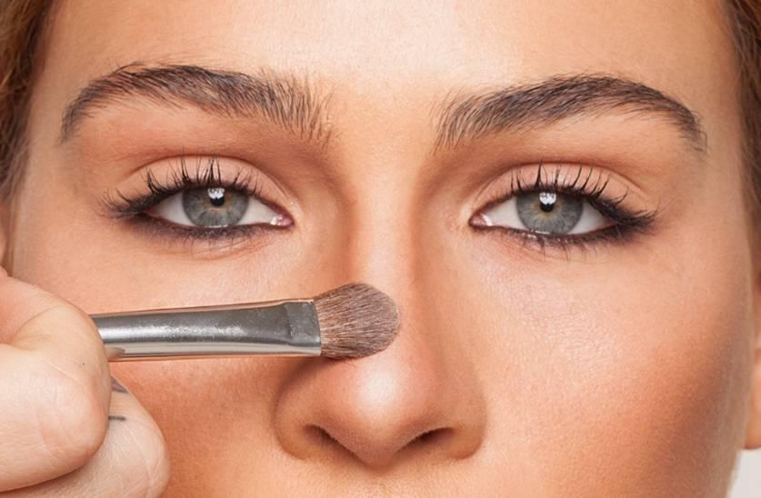 Как сделать нос визуально меньше?