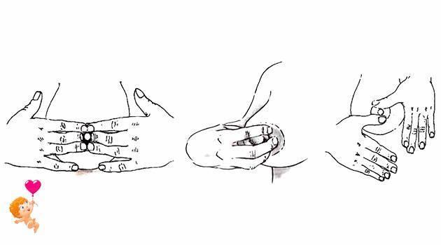 массаж при застое молока