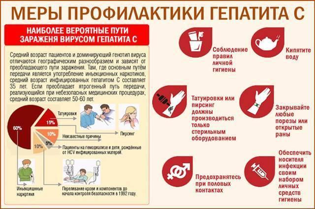 Гепатит ц, способы заражения и можно-ли заболеть в быту