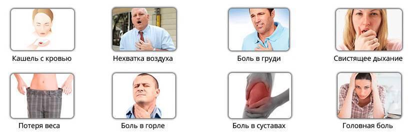 отхаркивание кровью при кашле