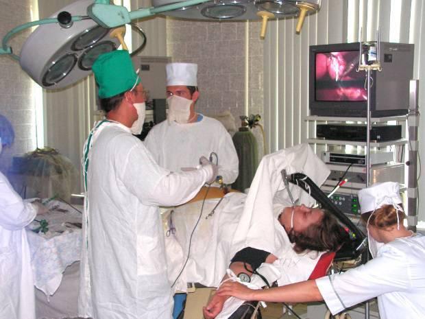 эндоскопическая операция по удалению желчного пузыря