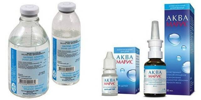 лечение насморка физраствором