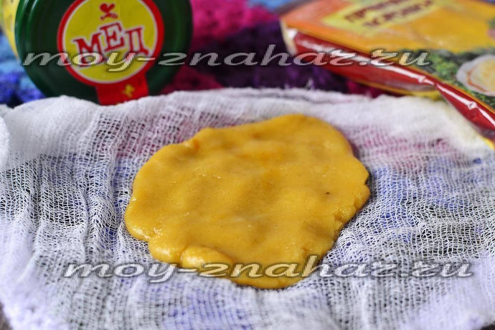 Лепешка от кашля для детей с медом и мукой отзывы — простуда
