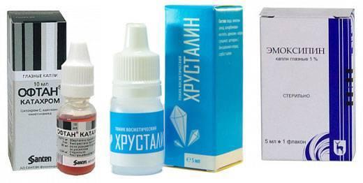 Глазные капли каталин: инструкция по применению