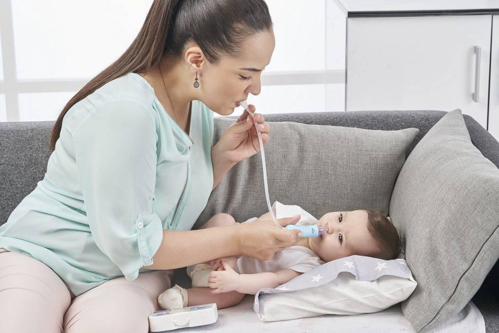 промыть нос грудному ребенку