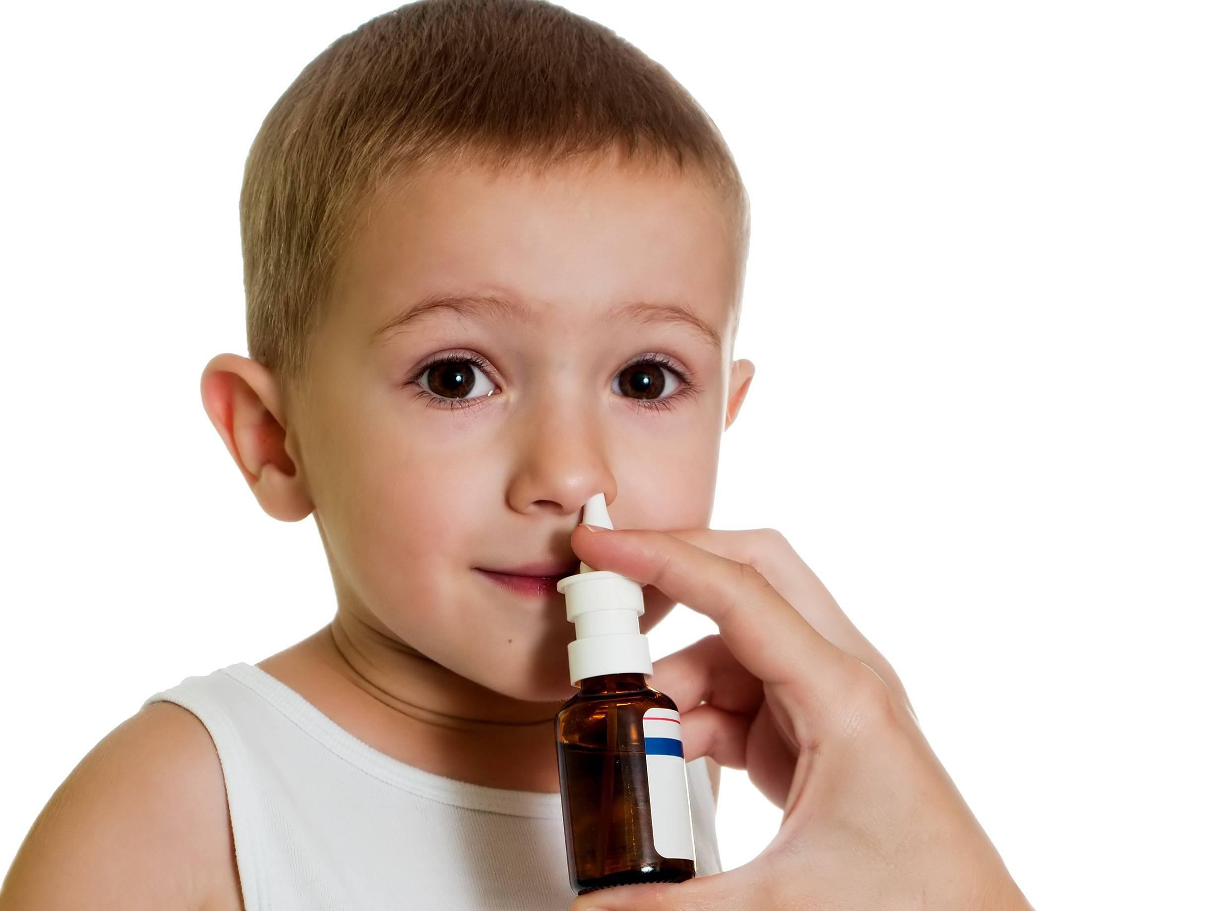 Спрей от насморка и заложенности носа для детей от года