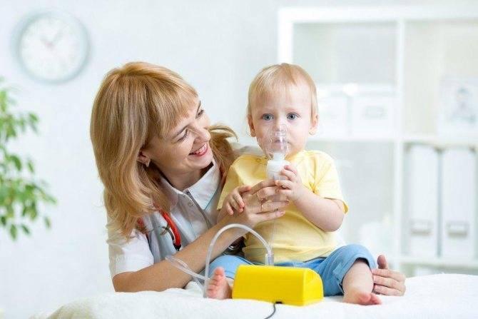 ингаляции при аденоидах у детей небулайзером